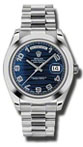 Rolex Day-Date II 218206 blue wave dial
