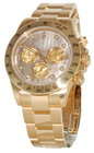 Rolex Cosmograph Daytona 116528 Gold Crystals Diamond Dial