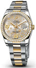 Rolex Steel and Yellow Gold Diamond M116243-0008